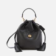 Coach Women's Whipstitch Lora Bucket Bag - Black