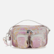 Núnoo Women's Helena Snake Cross Body Bag - Pink