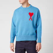 AMI Men's Coeur Jumper - Blue