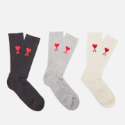 AMI Men's De Coeur Socks - Multi