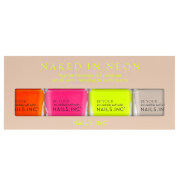 nails inc. Naked in Neon Top Coat Quad 4 x 14ml