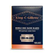 King C. Gillette Double Edge Razor Blades (10 Pack)