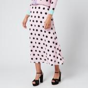 Olivia Rubin Women's Penelope Skirt - Black/Pink Polka Dot