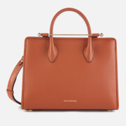 Strathberry Women's Midi Tote Bag - Chestnut