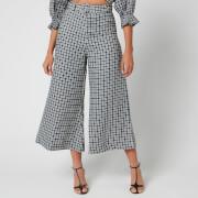 Faithfull the Brand Women's Lissandra Wide Leg Pants - Emelinah Check