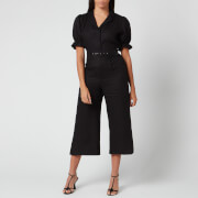 Faithfull the Brand Women's Fara Boilersuit - Plain Black