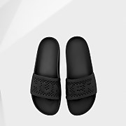 Hunter Women's Original Lightweight Moulded Sliders - Black