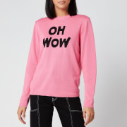 Bella Freud Women's Oh Wow Jumper - Pink