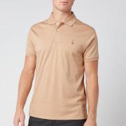 Polo Ralph Lauren Men's Slim Fit Pima Polo Shirt - Classic Camel Heather