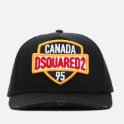Dsquared2 Men's Patch Embroidered Cap - Black