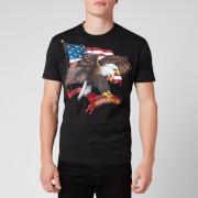 Dsquared2 Men's Eagle and Flag Cool Fit T-Shirt - Black