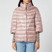 Herno Women's A/Line 3/4 Sleeve Light Jacket - Cipria