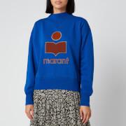 Isabel Marant Étoile Women's Moby Sweatshirt - Electric Blue