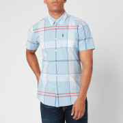 Barbour Men's Croft Shirt - Ocean Blue