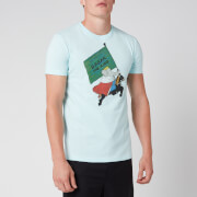 Lanvin Men's Babar T-Shirt - Blue