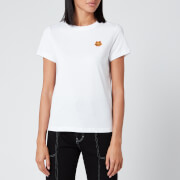KENZO Women's Classic Fit T-Shirt Tiger Crest - White