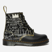 Dr. Martens X Basquiat1460 Leather 8-Eye Boots - White/Black