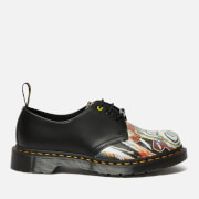 Dr. Martens X Basquiat 1461 Leather 3-Eye Shoes - White/Black