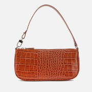by FAR Women's Rachel Croco Shoulder Bag - Tan