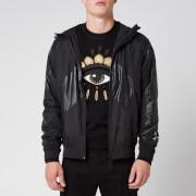 KENZO Men's Windbreaker Jacket - Black