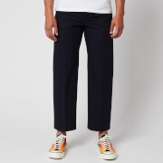 KENZO Men's Cropped Pants - Navy Blue