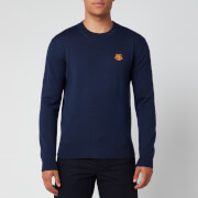 KENZO Men's Tiger Crest Jumper - Navy Blue