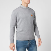 KENZO Men's Tiger Crest Classic Jumper - Dove Grey