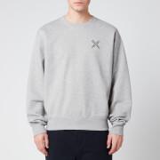KENZO Men's Sport Crewneck Sweatshirt - Pearl Grey