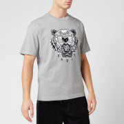 KENZO Men's Varsity Tiger T-Shirt - Pearl Grey