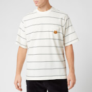 KENZO Men's Seasonal Striped T-Shirt - Ecru