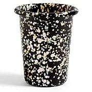 HAY Enamel Cup - Black Sprinkle