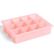 HAY Square Ice Cube Tray - Pink - XL