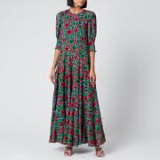 RIXO Women's Kristen Dress - Hibiscus Floral