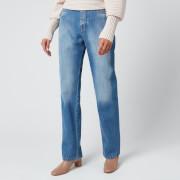 Victoria, Victoria Beckham Women's Midtown Straight Jeans - Horizon Blue