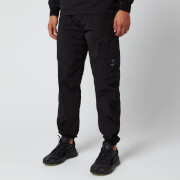 C.P. Company Men's Elasticated Waist Cargo Pants - Black