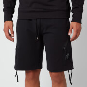 C.P. Company Men's Jogging Bermuda Shorts - Black