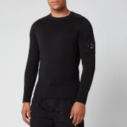 C.P. Company Men's Knitted Jumper - Black