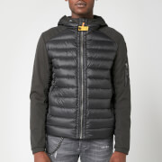 Parajumpers Men's Kinari Soft Shell Hooded Jacket - Black