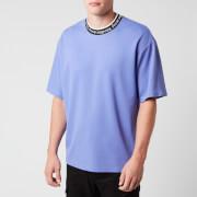 Acne Studios Men's Logo Jacquard T-Shirt - Dusty Purple