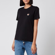Maison Kitsuné Women's T-Shirt Fox Head Patch - Black