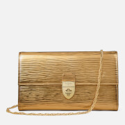 Aspinal of London Women's Mayfair Clutch Purse with Chain - Zoloto