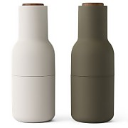 Menu Bottle Grinder - Green/Beige - Set of 2