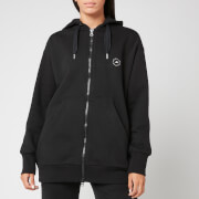 adidas by Stella McCartney Women's Full-Zip Hoodie - Black Melange