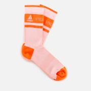 adidas by Stella McCartney Women's Crew Socks - White/Apsior