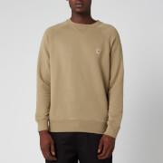 Maison Kitsuné Men's Fox Head Patch Sweatshirt - Light Khaki