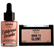 NYX Professional Makeup Blinding Glow Set - Rose Gold