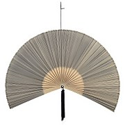 Bloomingville Bamboo Fan Wall Decoration - Black