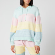 Olivia Rubin Women's Suki Knitted Hoodie - Pastel Stripe
