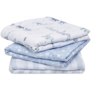 aden + anais Cotton Muslin Squares - Rising Star (3 Pack)