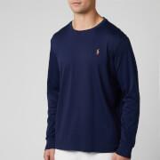 Polo Ralph Lauren Men's Custom Slim Fit Long Sleeve T-Shirt - French Navy